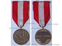 Germany Lower Saxony Waldbrand Disaster Commemorative Medal 1975
