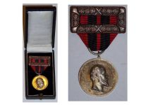 Germany Wurttemberg Silver Jubilee Medal Reign King Karl 1920 Military German Decoration Award boxed