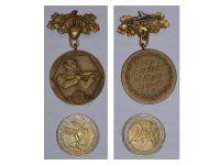 West Germany 93rd Hunter Regiment Shooting Award Medal 1963