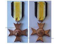Germany WW1 Barbara Cross of the German Heavy Artillery Veterans Association 1923