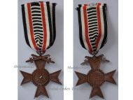 Germany Honorary Union German WW1 Veterans War Cross of Honor with  Swords 1914 1918