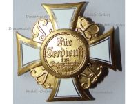 Germany Prussia WW1 War Cross Honor of the Land Combatants Association Model of 1925 by H. Timm Berlin G19