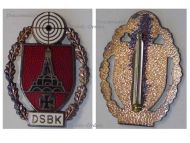Germany Shooting Expert Badge DSBK Kyffhauser Association German Soldiers Military Decoration Award