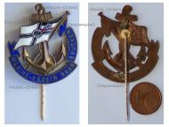 Germany WW1 Imperial Navy Veterans Association of Saarbrucken Stickpin Badge