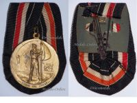 Germany WW1 Imperial Navy Tapferkeit Veterans Medal Marine Naval 1914 1918 German WWI Great War