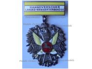 Germany WW1 Prussia Hanover Badge of the Army Veterans Association by L&W