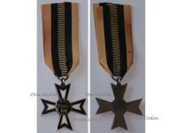 Germany WW1 Verdun Cross 1914 1918 1st type by Fleck & Sohn