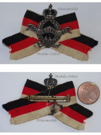 Germany WW1 Prussia Army Veterans Association Badge 60 years Membership WWI 1914 1918 Prussian German Decoration