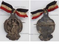 Germany WW1 Prussia Veterans Badge Glasau Schleswig Holstein Maker Lindner Munich