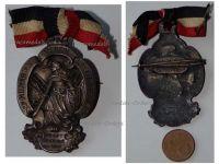 Germany WW1 Prussia Veterans Badge Glasau Schleswig Holstein Maker Lindner Munich