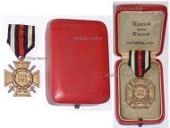 Germany Hindenburg Cross Combatants German WW1 Military Medal Honor 1914 1918 Great War Boxed