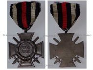 Germany WW1 Hindenburg Cross with Swords for Combatants Maker G1