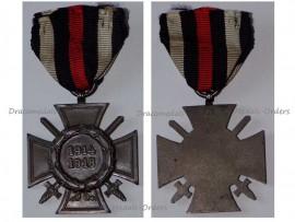 Germany Hindenburg Cross Maker G1 German WW1 Military Medal Honor 1914 1918  Great War