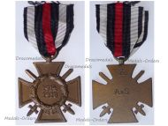 Germany WW1 Hindenburg Cross with Swords for Combatants Maker A&S