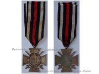 Germany Hindenburg Cross Combatants Maker RV 47 Pforzheim German WW1 Medal Honor 1914 1918 Great War