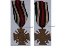 Germany WW1 Hindenburg Cross with Swords for Combatants Maker RV 5 Pforzheim