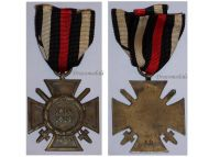 Germany WW1 Hindenburg Cross with Swords for Combatants Maker CP