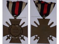 Germany WW1 Hindenburg Cross with Swords for Combatants Maker D&Co