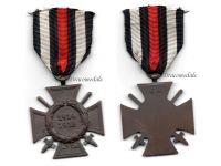 Germany Hindenburg Cross Maker G4 German WW1 Military Medal Honor 1914 1918 Great War