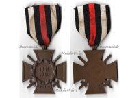 Germany Hindenburg Cross Combatants Maker NB&N German WW1 Military Medal Honor 1914 1918 Great War