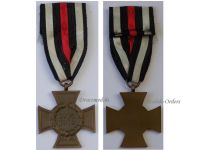 Germany WW1 Hindenburg Cross without Swords for Non Combatants Maker G6