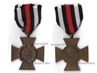 Germany Hindenburg Cross Maker GWL Wegerhoff German WW1 Medal 1914 1918 Non Combatants Great War