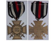 Germany Hindenburg Cross Maker N&H German WW1 Military Medal Honor 1914 1918 Great War