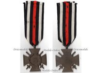 Germany WW1 Hindenburg Cross with Swords for Combatants Maker O10