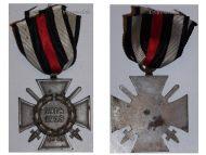 Germany Hindenburg Cross Combatants Maker O11 German WW1 Military Medal Honor 1914 1918 Great War