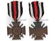 Germany Hindenburg Cross Combatants Maker O13 German WW1 Military Medal Honor 1914 1918 Great War