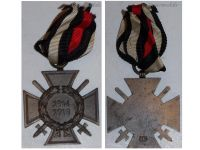 Germany Hindenburg Cross Maker O5 German WW1 Military Medal Honor 1914 1918 Great War