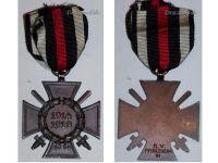 Germany Hindenburg Cross Combatants Maker RV 21 Pforzheim German WW1 Medal Honor 1914 1918 Great War