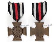 Germany Hindenburg Cross RV 45 Pforzheim German WW1 Medal 1914 1918 Non Combatants Great War