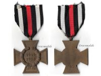 Germany WW1 Hindenburg Cross without Swords for Non Combatants Maker RV 45 Pforzheim