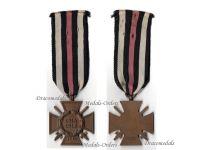 Germany WW1 Hindenburg Cross with Swords for Combatants Maker RV 83 Pforzheim