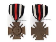 Germany WW1 Hindenburg Cross with Swords for Combatants Maker G11