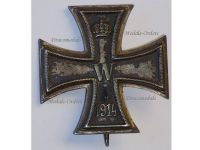 Germany Iron Cross 1st Cl. 1914 EK1 Maker KO German WWI Medal Decoration Merit Prussia 1918 Great War