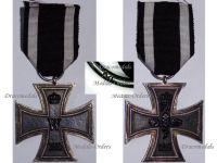 Germany Iron Cross II Class 1914 EK2 Maker M German WW1 Medal Decoration Merit Prussia 1918 Great War