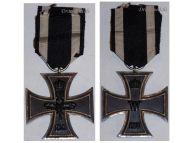 Germany Iron Cross 1914 EK2 Maker WS German WW1 Medal Decoration Merit Prussia 1918 Great War