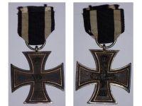 Germany Iron Cross 2nd Class 1914 EK2 Maker Z German WW1 Medal Decoration Merit Prussia 1918 Great War