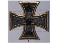 Germany WW1 Iron Cross EK1 Maker S-W Medal Military Decoration Merit WWI 1914 1918 Sy Wagner Great War
