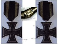 Germany Iron Cross 1914 EK2 Maker Fr German WW1 Medal Decoration Merit Prussia WWI 1918 Great War