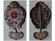 Germany Lippe Detmold WW1 Badge Veterans Association with 25 Years Membership Bar Weimar Republic 1918 1934