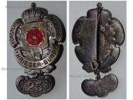 Germany Lippe Detmold WW1 Badge Veterans Association 25 Years Membership Bar by Mayer & Wilhelm