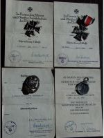 NAZI Germany Iron Cross 1939 EK1 Military medals set PANZER NCO East Front Barbarossa German Decoration