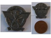NAZI Germany WW2 Police Day Patriotic Badge 1942 German Tinnie NSDAP Maker G6 WWII 1940 1945