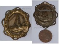 NAZI Germany WW2 German Maritime Search Rescue Association Badge 1933 1945 Medal WWII Red Cross