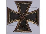 NAZI Germany Iron Cross 1939 WW2 Military Medal EK1 Badge Maker Deumer WWII 1940 1945