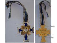 NAZI Germany WW2 Mothers Cross 1938 Gold Class 2nd Type 1939
