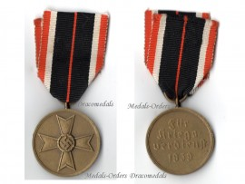 NAZI Germany WW2 Military Medal War Merit 1939 German Decoration WWII 1940 1945